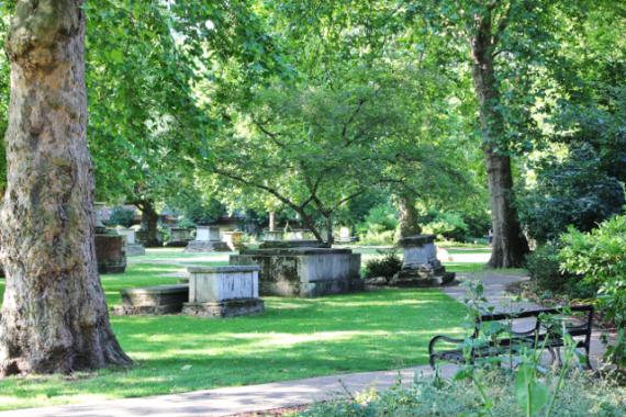 St Georges gardens, near Kings Cross, London