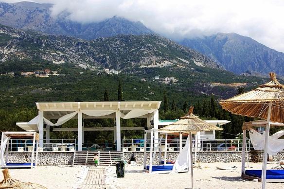 Drimadhes Beach Bar, Southern Albania