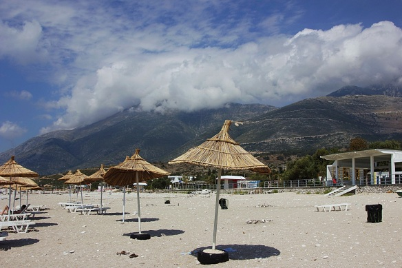 Relaxing by the beach in Southern Albania